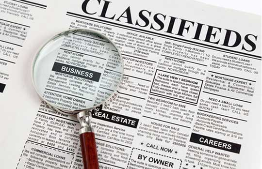 Want a website for posting Free classified advertising